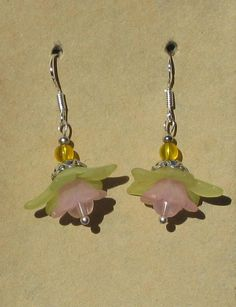 Fairy Flower Beaded Earrings