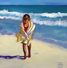 Debbie Miller Painting: One - daily painting, beach scenes