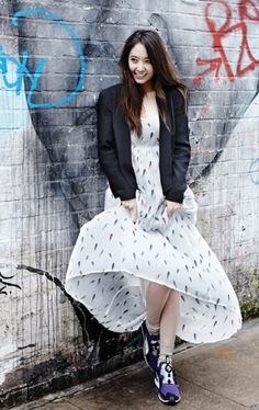 f(x) #Krystal Spring Photo Shoot More: http://www.kpopstarz.com/articles/81958/20140304/f-x-krystal-spring-photo-shoot.htm