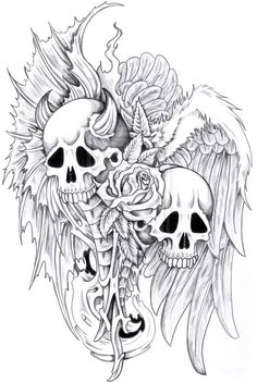 Monster Tattoos, Designs And Ideas : Page 8
