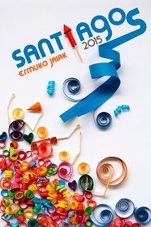 PRIMER PREMIO Cartel Fiestas de Santiagos en Ermua.