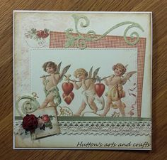 Huttons arts and crafts Pion Design handmade cards