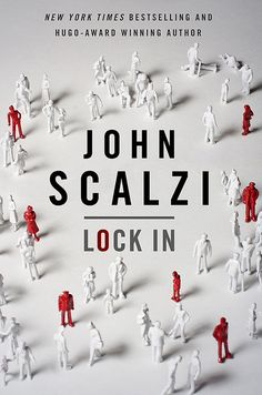 """There's been a good run of fantasy and science fiction books this year. Joining the list of great fantastical reads is John Scalzi's Lock In. Scalzi is best known for his military SF (especially the Old Man's War series), so his latest is a change of pace. A blending of SF and police procedural that hits every note just right."" @libraryreads pick! #atyourlibrary #pspl"