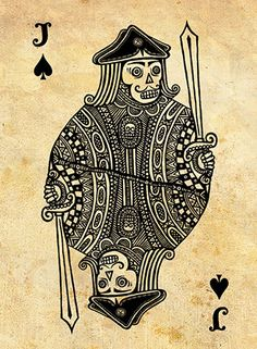 Pirate Playing Cards Designed and created by Vitaly Fishilevich, Israel, 2011