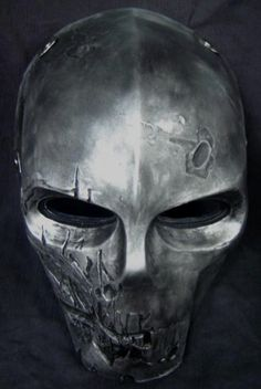 Army of two mask i know its not a helmet but still.army of two! Army Of Two, Airsoft Mask, Cool Masks, Masks Art, Body Armor, Mask Design, Zombie Apocalypse, Skull Art, Headgear