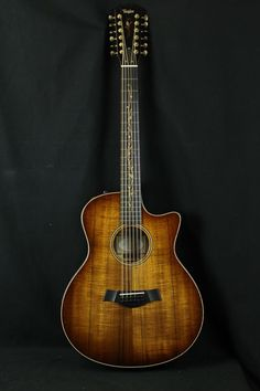 Taylor Guitars K66CE All Koa 12-String with Performance Package upgrades (Bone Nut and saddle, Gotoh 510 mini tuners).