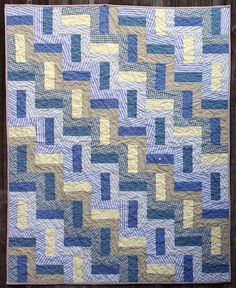 Memory quilt: (with men's dress shirts) by onetomatotwo, via Flickr What a sweet idea!