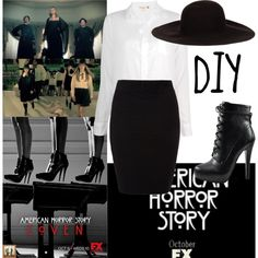 """""""Witch [American Horror Story : Coven]"""" by jessie-lastnamethatwontfit-lol on Polyvore"""