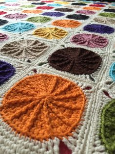 Sunny spread crochet project by Elaine Y