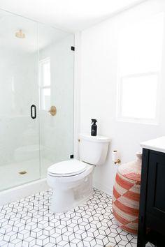 White bathroom tiles Wood Floor Jaclyn Johnsons Small Diamond Bathroom Floor Fireclay Tile Pinterest 104 Best White Bathroom Tile Images Bathroom Bathroom Modern
