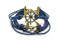 #anchor #âncora #pinup #pinups #pulseira #acessorie #acessorios #navy #sailor #retro #vintage #surpreendastore #asualojaretroonline #leme #infinito #infinyt