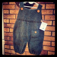 Baby Clothing Handmade knitted dungarees, baby clothes Baby ClothingSource : Handmade knitted dungarees, baby clothes by FrauWurzelzwergHandmade knitted dungarees by bergeré de france No onesie + sweater More info: Ravelry«Autumnknitting is Baby Outfits, Newborn Outfits, Baby Knitting Patterns, Baby Patterns, Knitted Baby Clothes, Knitted Romper, Handmade Baby Clothes, Crochet For Boys, Knitting For Kids