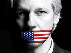 The (in)famous Julian Assange  Nice piece of political propaganda.
