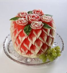 water melon-carving