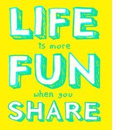 """""""La vida es más divertida cuando se comparte"""". Principios básicos en Social Media."""