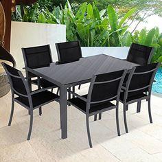 Miadomodo - Salon de jardin/terrasse - 6 chaises et 1 table - structure en acier - Gris foncé - COLORIS AU CHOIX, http://www.amazon.fr/dp/B00JOAVDUS/ref=cm_sw_r_pi_awdl_xs_LLQoyb8E0BMM2