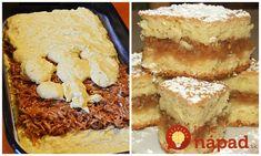 Maďarský jablkový koláč: Na tento dezert sa nechystajú ani drahé zákusky! Tiramisu, French Toast, Breakfast, Ethnic Recipes, Sweet, Food, Basket, Morning Coffee, Meal