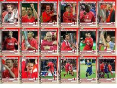 nikolaitradingcards - Football - Liverpool - Custom made Trading cards for Collectors who require something unique. Liverpool Squad, Liverpool Poster, Liverpool Football Club, Hillsborough Disaster, Bob Paisley, John Barnes, Kenny Dalglish, Michael Owen, Bolton Wanderers