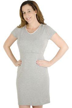 Latched Mama T-shirt Nursing Nightgown