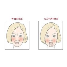 Do you have sugar face, wine face or gluten face? How to tell if the foods you're eating are affecting your skin: