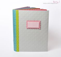 DIY Scrapbook for the tchibo blog parade with simple video tutorial