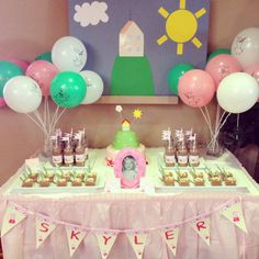 My little girls peppa pig party