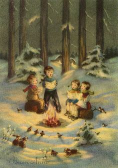 Miss Jane: Christmas Cards 1963