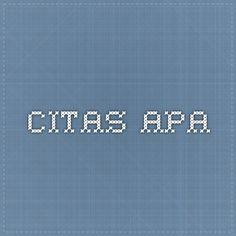 CITAS APA