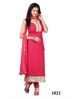 4f66a28e7d Dazzling Pink Coloured 60 Gram Straight Indian Designer Suit At Best Prices  By Uttamvastra - Online Shopping For Women