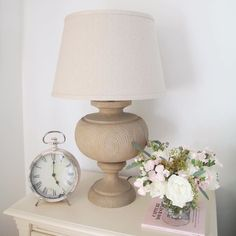 We're giving our alarm clock the day off. Home Bedroom, Master Bedroom, Bedroom Ideas, Bedside Table Lamps, Happy Sunday, Alarm Clock, Sweet Home, New Homes, Flooring