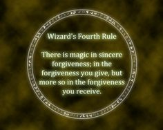 Forgiveness will clear your head and allow you to move on from being wronged, but at the same time, don't allow yourself to be so weak where forgiveness is your only tool. If someine has wronged you and continues to wrong you, you need to kick them out for your life and move on. Altruism will get you killed if it isn't earned by the person receiving it.