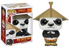 POP! Movies: Kung Fu Panda - Po with Hat