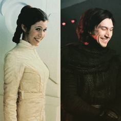 knights-of-ben-solo: gandalfstruth:  Family resemblance :)  Mom and son