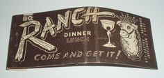 RANCH DINNER LUNCH HAYWARD CALIF
