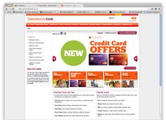 Sainsbury's Bank website