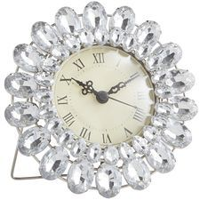 Clear Gems Mini Clock
