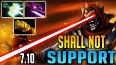 Dota 2 NEW IMBA Carry | Lion Mid 7.10 epic game by BabyKnight | Update 7...