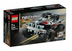Enjoy high-speed action with the LEGO Technic 42090 Getaway Truck! Lego Technic, Lego Duplo, Pick Up, Legos, Technique Lego, 4x4, Speed Action, Monster Trucks, Shop Lego