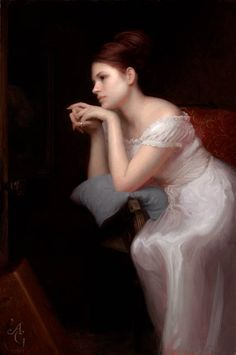 ~Adrian Gottlieb Second-Thoughts,-oil,-36-x-24.