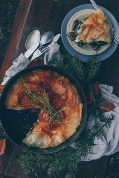 TURKISH BOREK PIE WITH MUSHROOMS & A WEEKEND TRIP TO THE BOLU PROVINCE