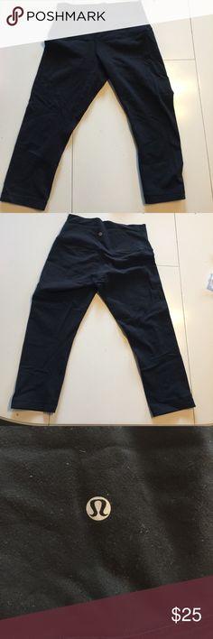 Lululemon black Capri Lululemon black Capri, worn lululemon athletica Pants Track Pants & Joggers