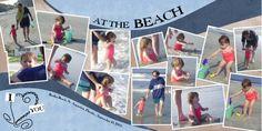 I Heart You on the Beach