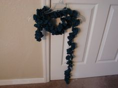 Crocheted Ruffle Scarf by DonnasDreamBoutique on Etsy, $30.00