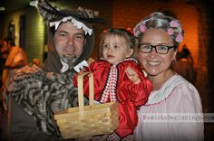 Little Red Riding Hood family costume theme // Momista Beginnings