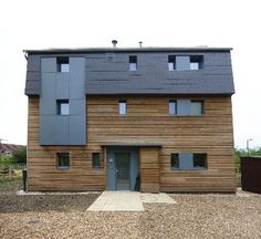 This is what passes for Passiv haus in Britain. Converted pricing was 292/SF. Blower Door Test was .0653. Crazy good.  MKPassiveHouse_elevation