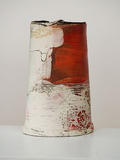 lesley mcinally ceramics makeanddo driftceramicart pottery paperclay   The Landscape Series