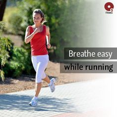 During a workout, your breath rate increases quickly initially as your body responds to the need for more oxygen. The most efficient way to breathe is actually into the rib cage and middle back, as this is where the most oxygen exchange occurs. Because diaphragmatic breathing is not natural for many of us, it requires conscious effort to breathe this way, making it an excellent thing to focus on during a run.