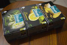 Dilmah Tea - 3 boxes 60 tea bags 3 flavors- Ginger, Venila, Lemon with Honey  #Dilmah