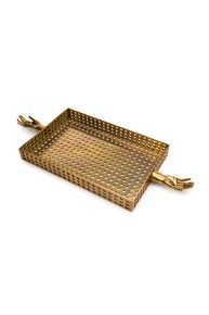 KELLY WEARSTLER   SALONE TRAY. A modern and richly textured accessory for entertaining or artful home organization.