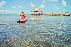 Stand Up Paddling in Caye Caulker    $15/Hour
